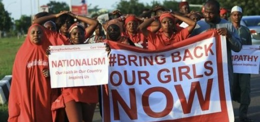 """""""#Bring Back Our Girls"""" campaigners participate in lamentation parade, as more towns in Nigeria come under attack from Boko Haram in Abuja"""