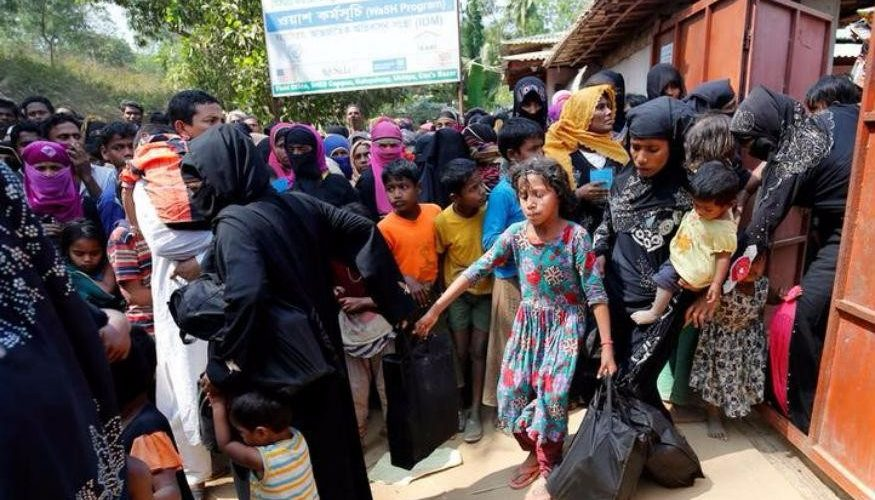 Bangladesh Calls for Efforts to Curb Rohingya Influx