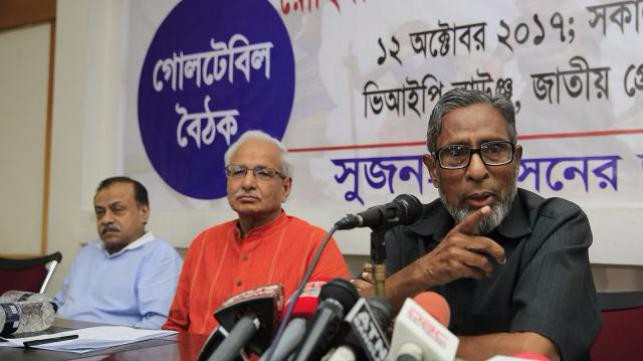 Bangladesh fails diplomatically on Rohingya issue: Shujan